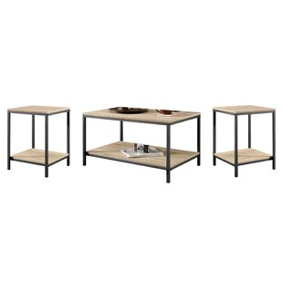 Ermont 3 Piece Coffee Table Set Laurel Foundry Modern Farmhouse