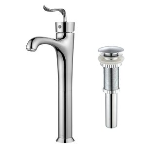 Codau2122 Single Hole Single Handle Bathroom Faucet with Pop-Up Drain
