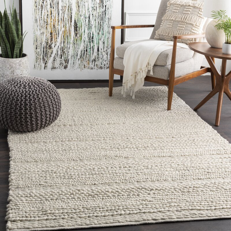 Birch Lane Jocelyn Parchment Hand Woven Area Rug Amp Reviews