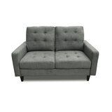 Laoise 2 Seat 61 Square Arm Loveseat by Ebern Designs