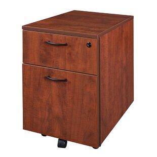 Latitude Run Quintero Low Mobile Box/File Pedestal File