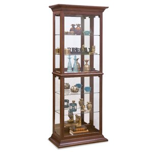Fairfield II Lighted Curio Cabinet by Phi..
