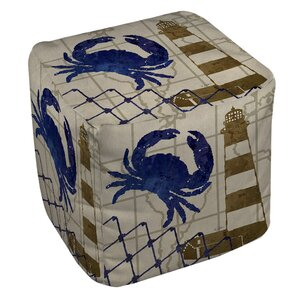 Vineyard Ottoman by Breakwater Bay