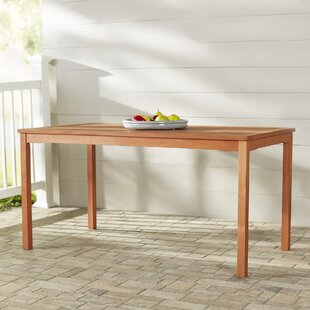 Ehlert Extendable Solid Wood Dining Table by Darby Home Co
