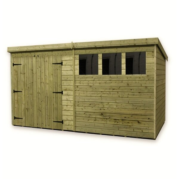 empire sheds ltd 14 x 8 wooden garden shed reviews wayfaircouk