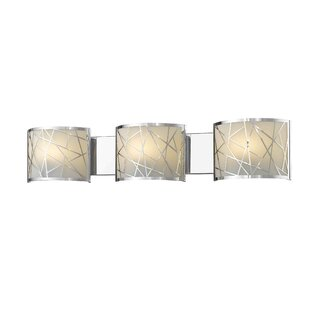 Orren Ellis Bailor 3-Light Bath Bar