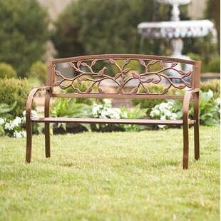 Tree of Life Iron Garden Bench by Wind & Weather
