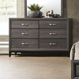 Steubenville 6 Drawer Double Dresser