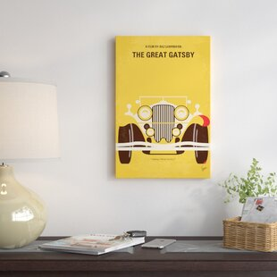 'The Great Gatsby Minimal Movie Poster' by Chungkong Vintage Advertisement on Wrapped Canvas By East Urban Home