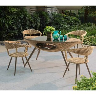 Daylen 5 Piece Dining Set By Mistana