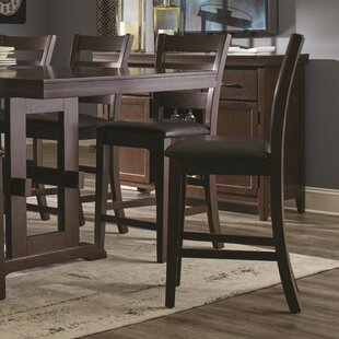 Kitson Counter Height Solid Wood Dining Chair (Set of 2)