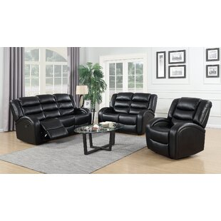 Pamrapo 3 Piece Reclining Living Room Set