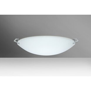 Find for Sonya 2-Light Outdoor Flush Mount By Besa Lighting