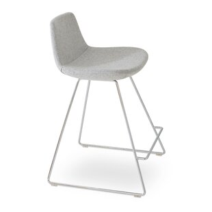 Pera Wool 29 Bar Stool by sohoConcept