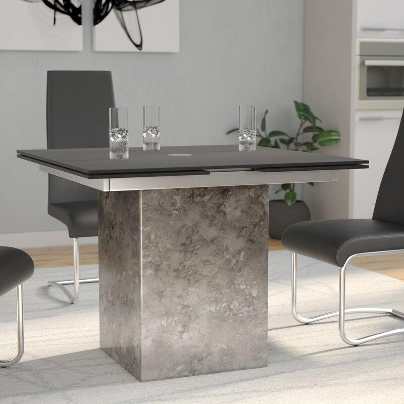 Orren Ellis Arche Pedestal Dining Table & Reviews | Wayfair
