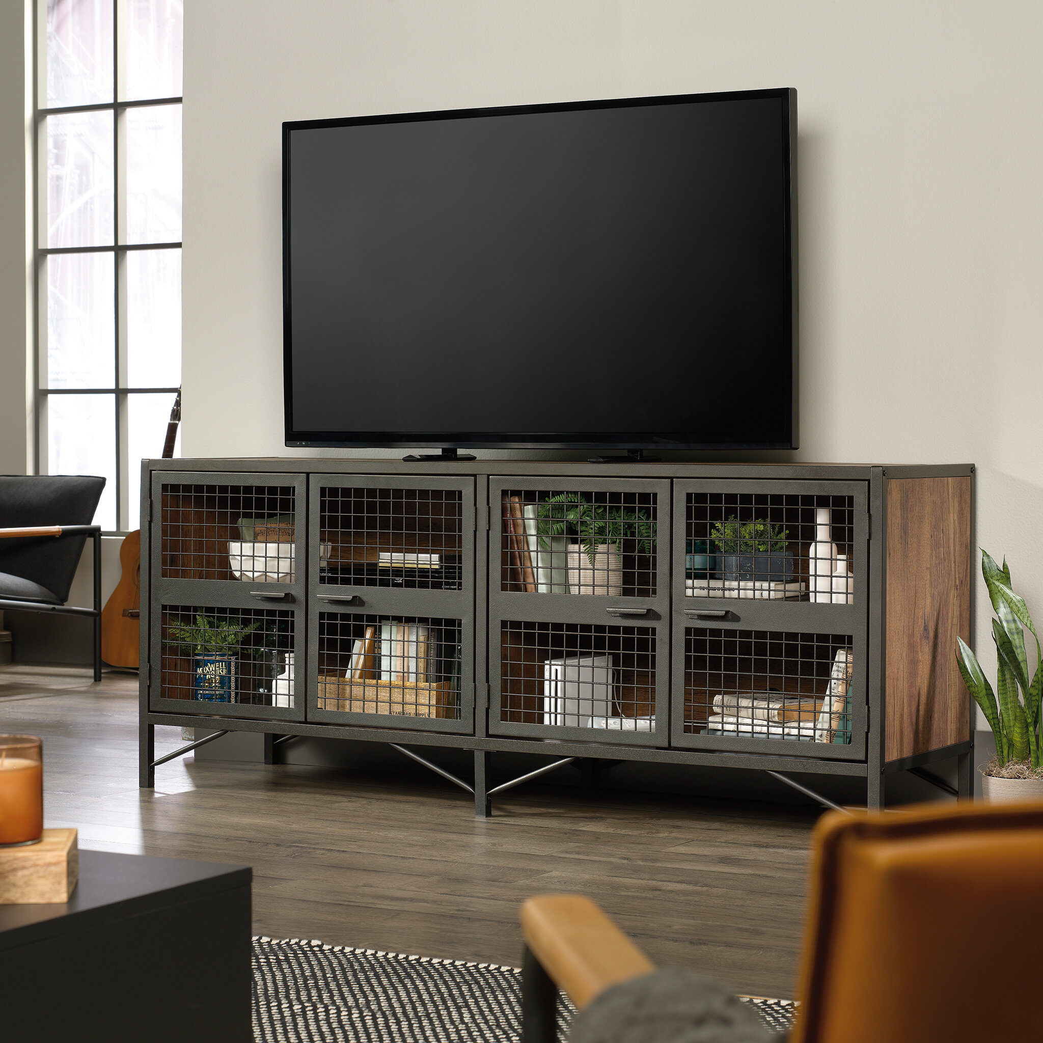 """Williston Forge Cherita TV Stand for TVs up to 78"""" & Reviews 