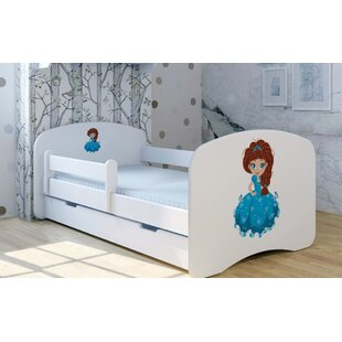 Princess Laura Convertible Toddler Bed With Drawer By Zoomie Kids