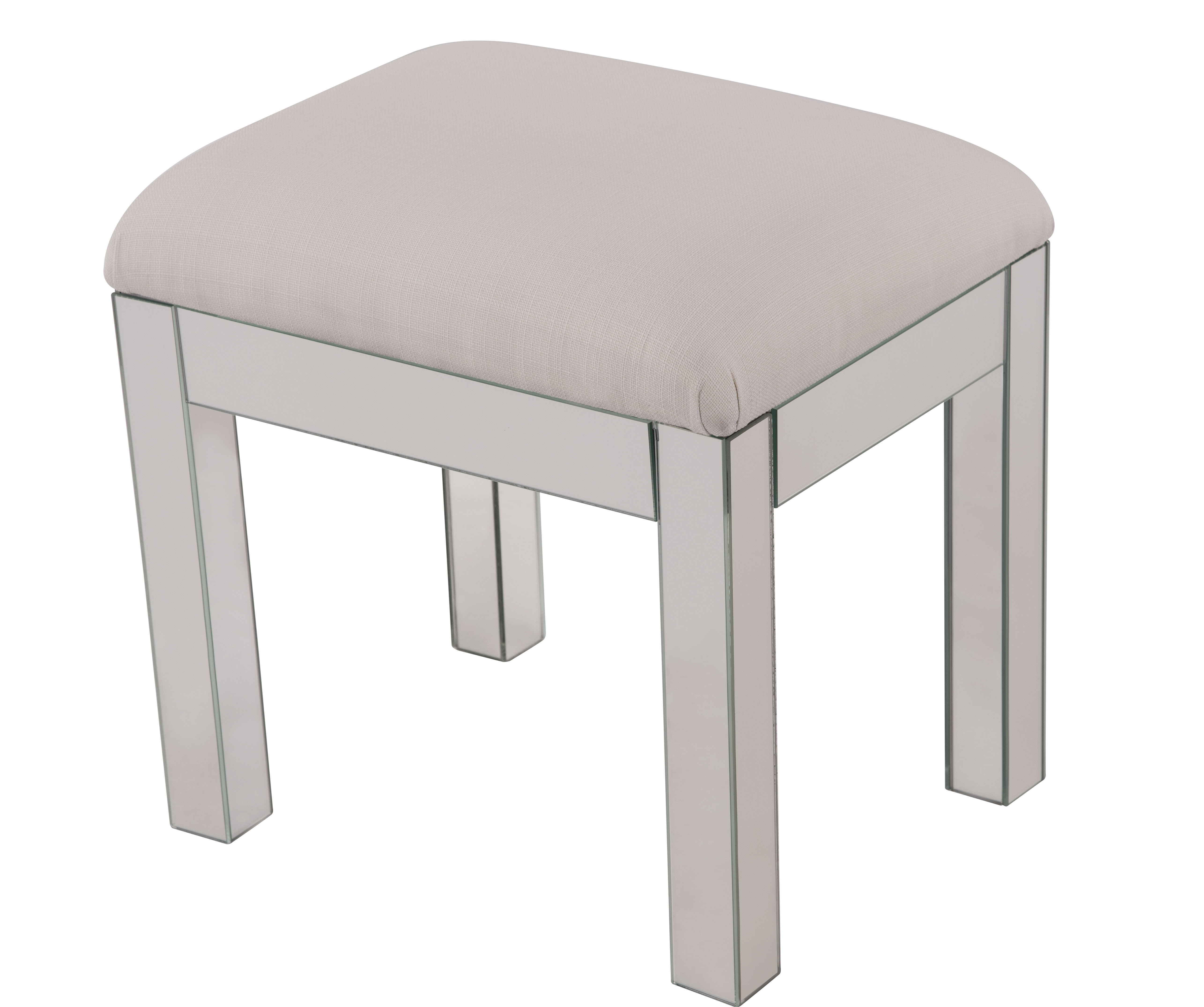 Mirrored Accent Stools You Ll Love In 2021 Wayfair
