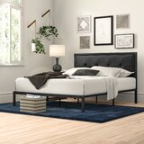 Brookneal Classic Tufted Upholstered Platform Bed by Zipcode Design™