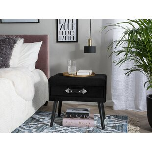 Dam End Table with Storage