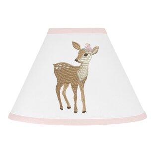 Deer Floral 10 Fabric Empire Lamp Shade