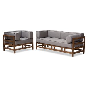 Find a Feltner 2 Piece Living Room Set by Ivy Bronx Reviews (2019) & Buyer's Guide