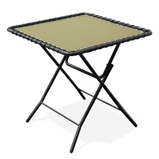 Folding Steel Side Table