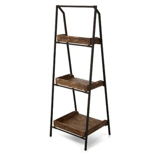Casson Folding Shelf Ladder Bookcase