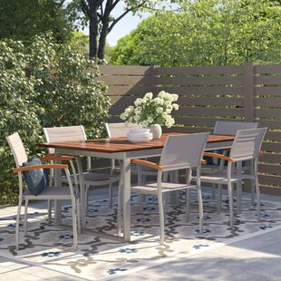Sakho 6 Seater Dining Set By Sol 72 Outdoor