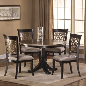 Chuckanut 5 Piece Dining Set by Fleur De Lis Living