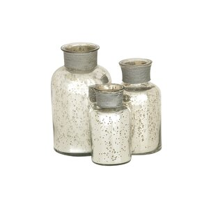 Myhre 3 Piece Decorative Bottle Set