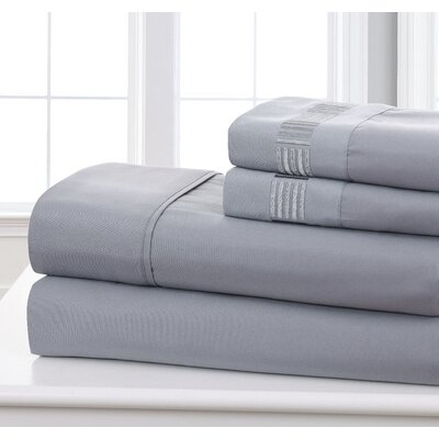 Fielder Soft 1200 Thread Count Solid Sheet Set George Oliver