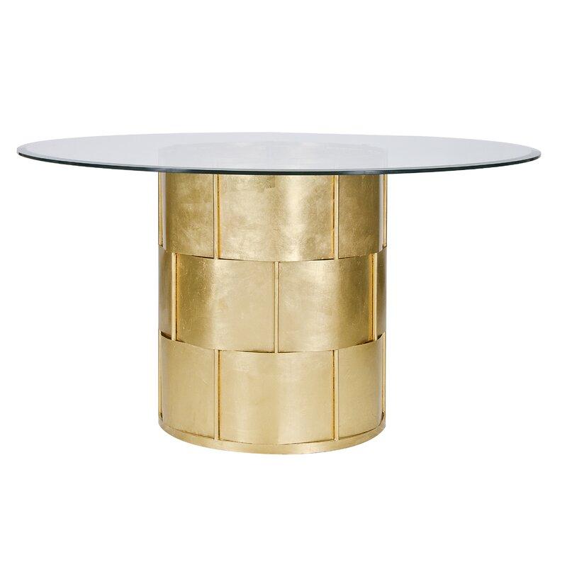 Worldsaway Basketweave Dining Table