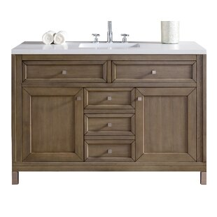 Chicago 48 Single Bathroom Vanity Base by James Martin Furniture