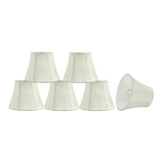 5'' Fabric Bell Floral Lamp Shade (Set of 6)