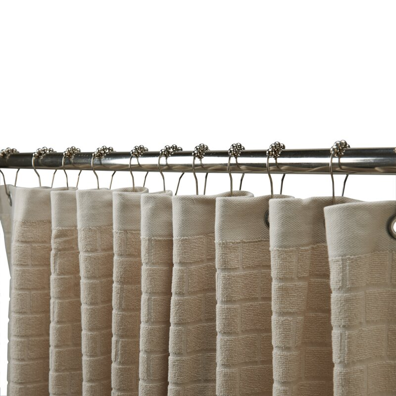 Subway Cotton Tile Shower Curtain