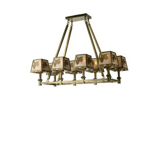 Meyda Tiffany 8-Light Kitchen Island Pendant