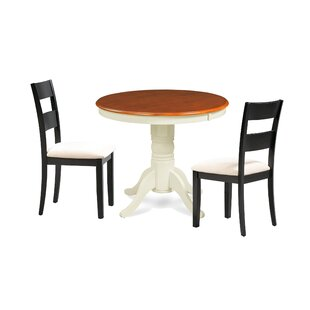 Cayton 3 Piece Breakfast Nook Dining Set