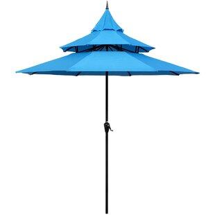 Lovely Pagoda Patio Umbrella | Wayfair