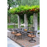Merlyn 7 Piece Patio Dining Set