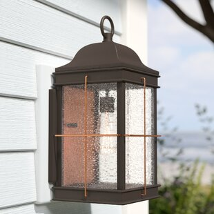 Beachcrest Home Craig 1-Light Outdoor Flush Mount