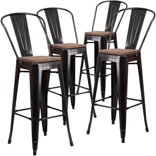 Lynda 30 Bar Stool (Set of 4) Williston Forge