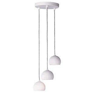 Mahpee 3-Light LED Cluster Pendant by Brayden Studio