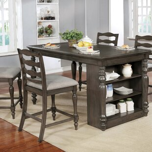 Traci Counter Height Dining Table Canora Grey