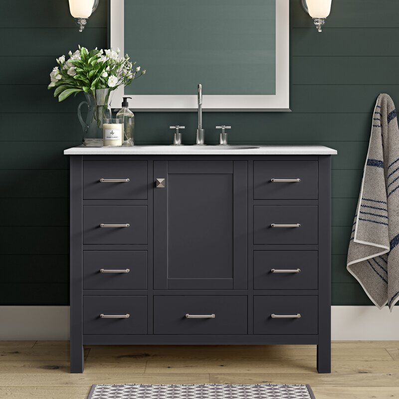 Aneira 42 Single Bathroom Vanity Set Reviews Joss Main
