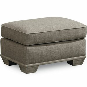 Carolin Gray Ottoman by One Allium Way