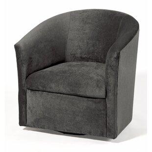 Raphael Swivel Barrel Chair by Willa Arlo Interiors