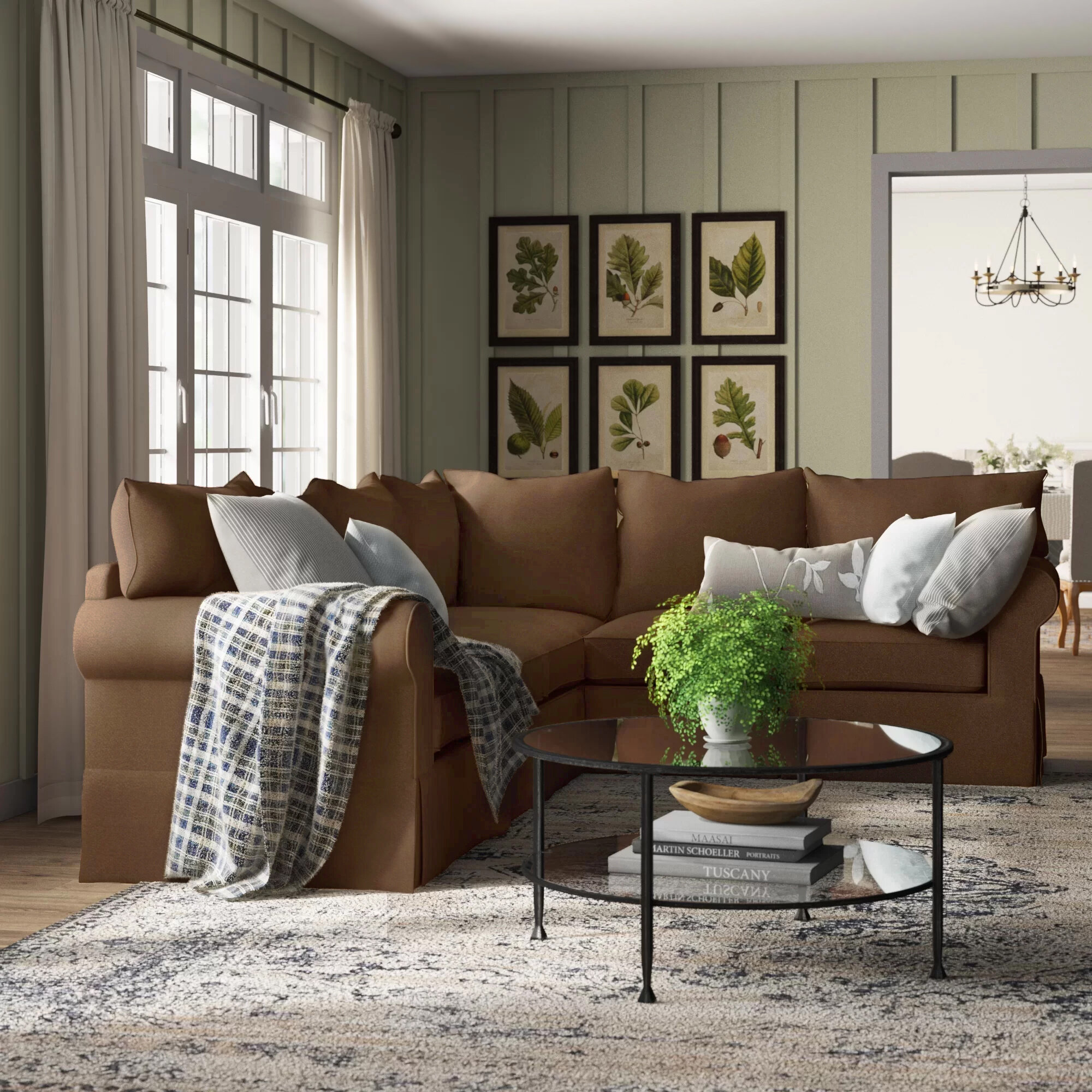 Birch Lane Jameson Slipcovered L Shaped Sectional Reviews Wayfair Ca