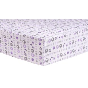 Check Prices Lambs and Flowers Fitted Crib Sheet ByTrend Lab