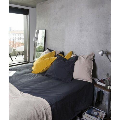 Bettbezug aus Baumwolle Knollview Ebern Designs Größe: 160 x 200 cm| Farbe: Dunkelgrau | Heimtextilien > Bettwäsche und Laken > Wendebettwäsche | Ebern Designs